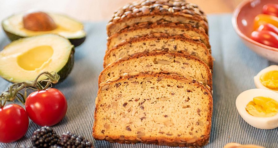 Neu: Low Carb Brot
