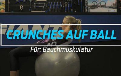 Crunches auf Ball