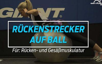 Rückenstrecker auf Ball