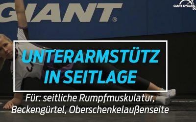 Unterarmstütz in Seitlage